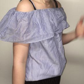 designers remix skjorte  virkelig fin, med blå striber  str s