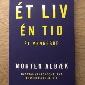 Aktuel big af Morten Albæk om work life balance. Aldrig åbnet.