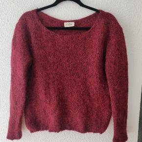 American vintage alpaca sweater Vinrød Str s, løs 50% baby alpaca / 36 % bomuld/ 23% polyamide/ 1% elastan   Fast pris