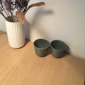 2 stk grønne kähler kopper.