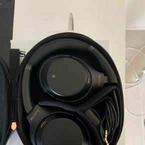 Sony WH1000xm3   Bedste noice cancelling headphones brugt meget lidt!