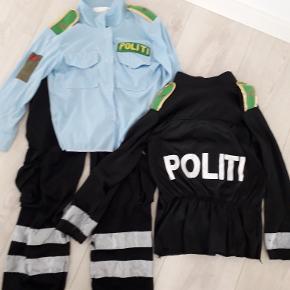 Politi udklædning str 5-8 år bukserne har lidt slid men kan sagtens klare mere leg/udklædning