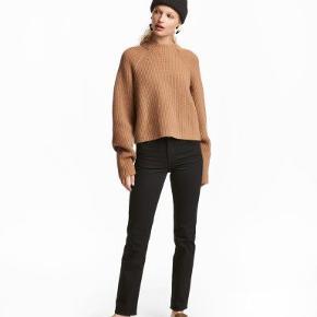 Straight jeans fra H&M i str W28