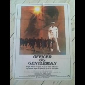 Original filmplakat Officer & Gentleman 62 x 84 cm