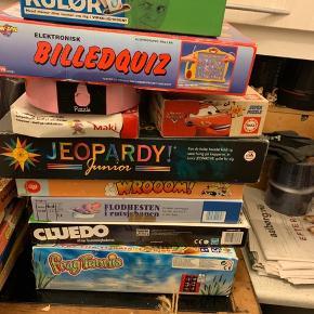 Kom med bud brætspil og puslespil 😊