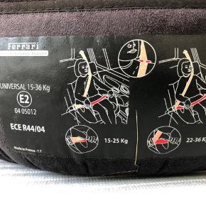Ferrari autostol i rigtig fin stand. Op til 36 kg.