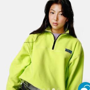 Neon gul/grøn fleece trøje fra junkyard