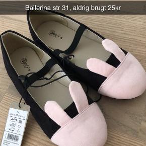 Ballerina med kanin ører