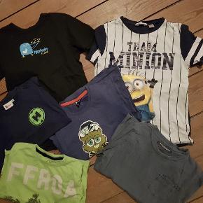 Stor tøjpakke str 122/128. T-shirts, skjorte/Vest, bluser, nattøj, sportstøj, cardigans, Puma zip etc.  Se også tøjpakke str 134.  Giver god mængderabat ! Skriv gerne for flere billeder. #30dayssellout