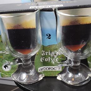 Helt nye Irish Coffee glas fra mærket arcoroc. Prisen er for alle 8 glas. Skriv endelig ved spørgsmål 😀