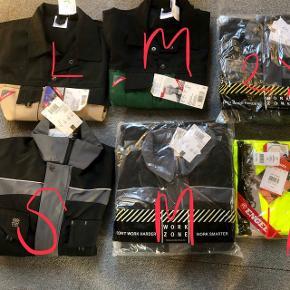 Workzone, Engel arbejdsjakker, nyt med prismærker på, størrelse står på billedet 125 kr pr stk