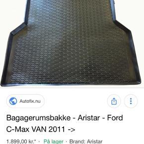 Bagegerumsbakke til ford  c max van