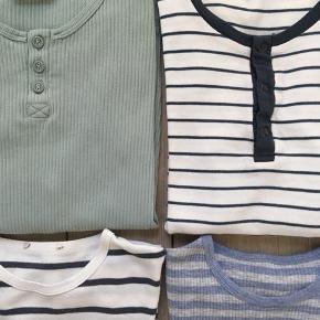 Marmar pakke str. 9Y/134 NSN-GMB  Indeholder: 2 L/Æ bluser 2 t-shirts 1 par shorts  Derudover medfølger der GRATIS 1 stribet Marmar t-shirt som har et lille hul i nakken)  Samlet MP 350 kr. pp/dao