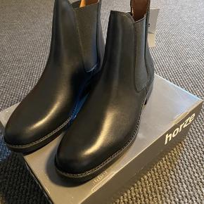 Horze støvler, ægte læder  Str 42  Cond 10/10, ny med tags
