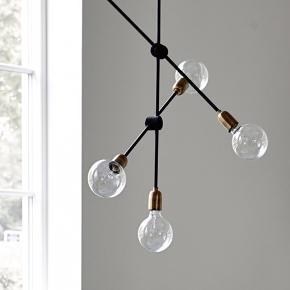 Lampen har ingen fejl eller mangler. Den sælges udelukket fordi vi ikke har plads efter flytning.