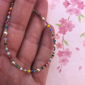 Perle armbånd  Multi farver med ferskvandsperler Ⓜ️ Mål: 17 cm 💮 Prisen er fast og inkl porto