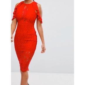 Smuk rød kjole str xs.   Afhentes i Glostrup eller sendes (40kr) 📦 Se flere ting på min profil - følg gerne 🌼🐝