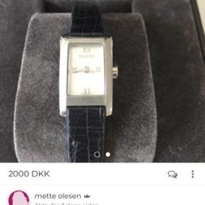 Super flot ur hvor remmen netop er udskiftet . Mener ny prisen var ca 8000 kr Sælges for 2000 kr