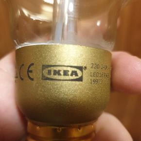 Stor Edison pære fra IKEA. Aldrig brugt og virker fint
