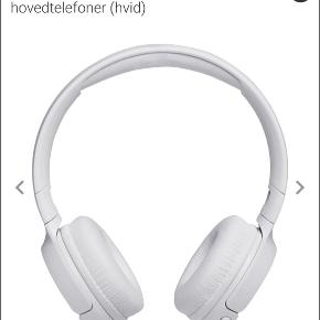 Sælger JBL Tune500BT trådløse on-ear hovedtelefoner (hvid) Næsten ikke brugt, virker som de skal.  - Skriv for flere billeder