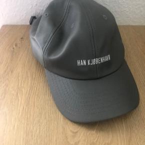 Han Kjøbenhavn cap i gråt læder