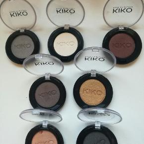 Kiko øjenskygger. 65kr for dem alle :)