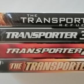 The Transporter 1 2 3 4 Dansk tekst Sælges samlet