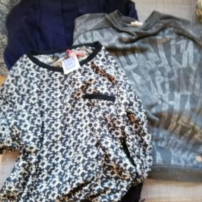 Pris er for det hele Nümph sweatshirt str M Gap cardigan str S Prepair bluse str L