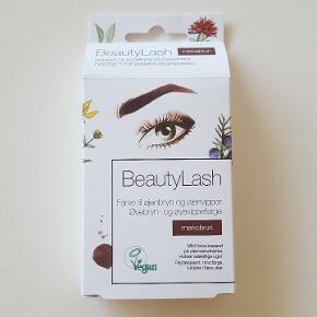 Beauty Lash Farve til øjenbryn og øjenvipper. Mørkebrun. Vegansk.  Fejlkøb, aldrig brugt noget af den.☺