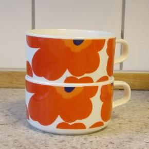 Jeg sælger 2 STK. Af disse Marimekko kaffe kopper 100 kr stykket de koster normalt 160 kr.
