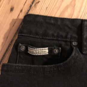 Jeans-nederdel fra Calvin Klein, købt secondhand i New York