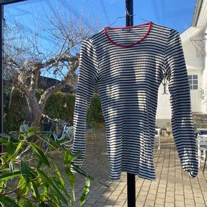 Mads Nørdgaards originale stribede #101 T-Shirt med striber  100% bomuld  Brugt max 1 gang  #30dayssellout