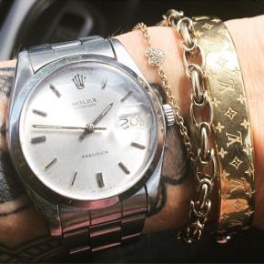 Fedt vintage ur med box og div. 34mm