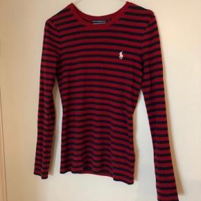 Sort og rød stribet ralph lauren trøje  #secondchancesummer