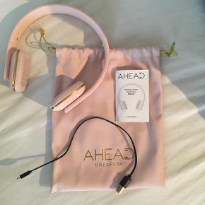 Ahead kreafunk trådløs høretelefoner 100 % i orden - lyserød - ny pris 799
