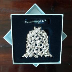 Sælger denne fine og ubrugte Karen Blixen juleophæng fra 2009 i sølv.