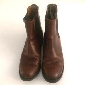 Sendra læderstøvler str 36. I super fin stand