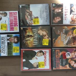 DVD film på billedet i ubrudt emballage. 1 stk 10 kr eller 8 stk 50 kr.