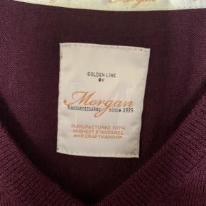 Sweater, Morgan, str. XXL, Bordi, Merinould , Ubrugt, Helt ny herre sweater fra Morgan Merino uld Str XXL Kr. 200,-