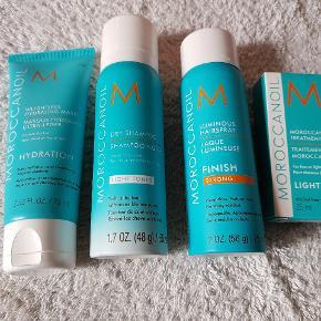 Nye og ubrugte produkter fra Moroccanoil.