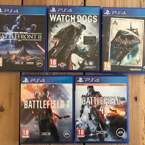 Sælger disse spil samlet som udgangspunkt. Hvis du virkelig ønsker at købe et enkelt, så smid en besked. Bemærk, Batman-spillet indeholder to CD'er da der pudsigt nok er to spil i æsken.
