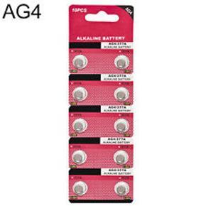 Knapcelle Batterier Ag 4 den mest almindelige til ure