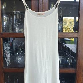 Cream anden kjole & nederdel