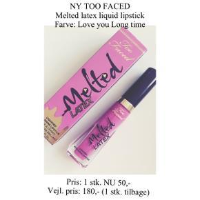 Brand: Too Faced Varetype: Liquid lipstick Farve: Love you Long time  Aldrig brugt - stadig i æske ☀️