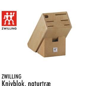 Zwilling knivblok.  Aldrig brugt, i original indpakning. Nypris 649,95.