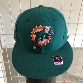 Miami Dolphins cap fra Reebok. Str. 7 1/4