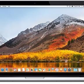 """Apple MacBook Pro 13"""" m. Retinaskærm Ultimo 2013 model, købt april 2014 8 GB ram 512 GB intern hukommelse  Holder en time på fuld batteri Har slitage på skærm, men fungerer upåklageligt  Nypris 14.500,-   Byd - skriv for billeder"""
