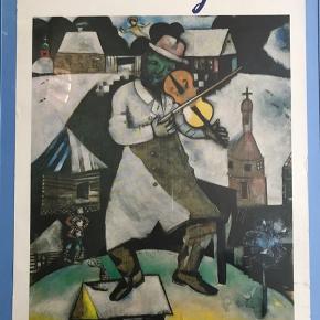 Mindre Marc Chagall Louisiana plakat fra 1983. Motiv: Violinisten 30x42 cm Fremstår med enkelte brugsspor i siden. Kan skjules med passepartout  175kr Kan sendes for 39kr  #marcchagall #chargall #louisianaplakat #kunstplakat #udstillingsplakat #kunsttilvæggen #tilvæggen #kunstvæg #gallerivæg #billedvæg