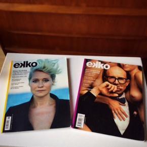 2 Ekko film blade.  10 kr. for begge.  Fast pris.   Mødes og handle på Nørrebro ved Runddelen. - ellers plus porto.   Bytter ikke.