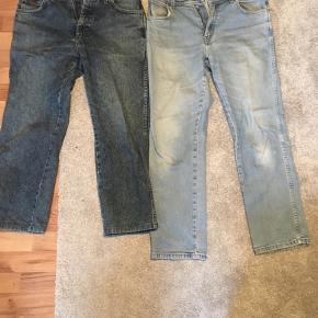 To fede par Wrangler cowboybukser. De er begge to købt i en vintage butik i Berlin. De er størrelse 32 i taljen.